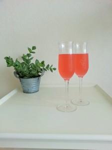 Rabarber-Drinks